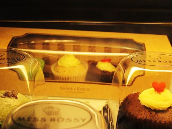 Miss Bossy Café:{Miss Bossy Café} 超~精緻美味的杯子蛋糕_隱身在台南巷弄中