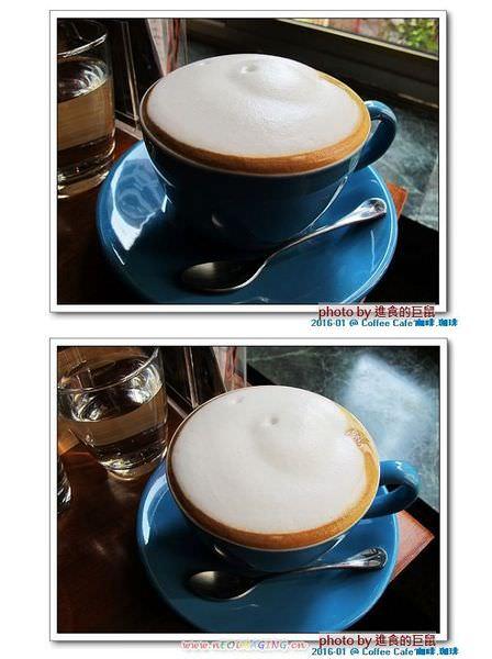 Coffee Cafe' 咖啡珈琲:(台南。中西區美食) Coffee Cafe' 咖啡珈琲 /  咖啡。甜點。正餐。陪你度過一個慵懶靜謐的個人時光!  / 抹茶厚鬆餅,舒芙蕾的綿密濕軟口感,絕不能錯過喔!